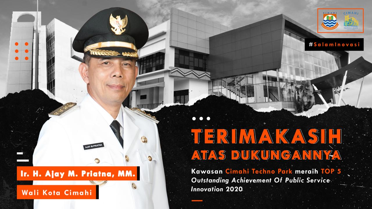 Cimahi Raih TOP 5 Outstanding Achievement Of Public Service Innovation 2020